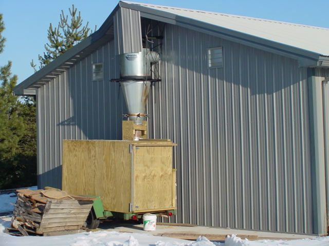 Dust Collection Direct To A Trailer