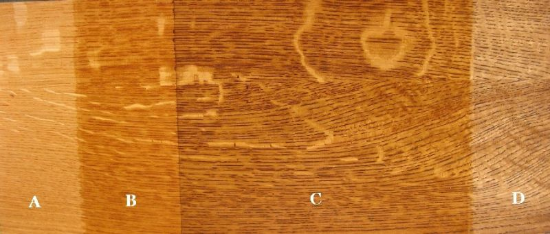 Enhancing Oak Grain With Dyes And Glazes