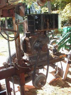 Home Built Bandsaw Mill