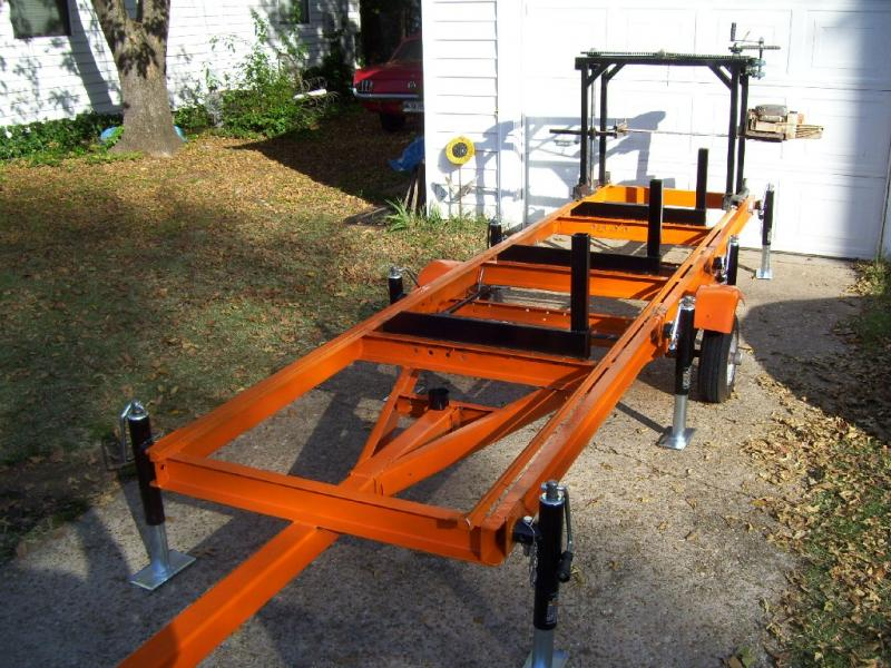 Portable Chainsaw Sawmill: Norwood PortaMill PM14 Chainsaw Mill