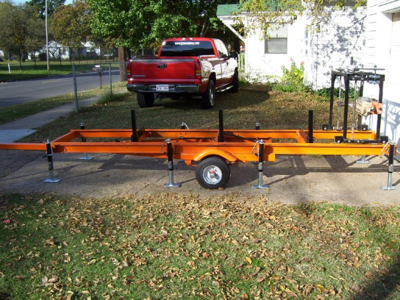 Harbor Freight Sawmill Blade : Homemade portable sawmill car interior design