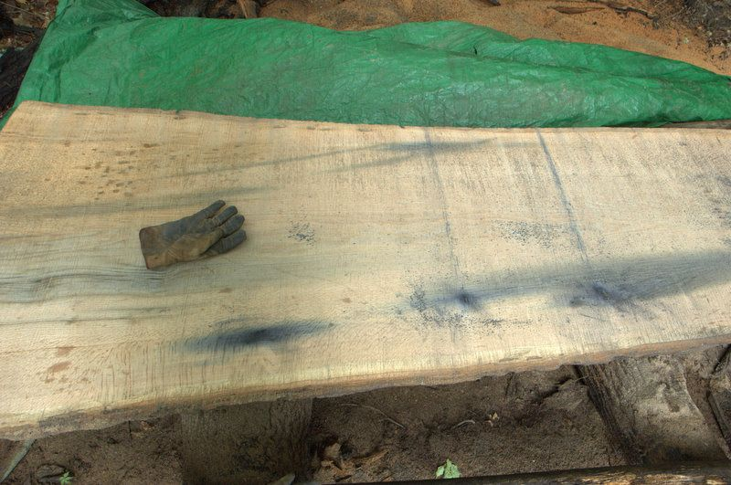 Iron Stains in Red Oak