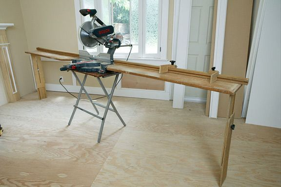 build your own miter saw stand