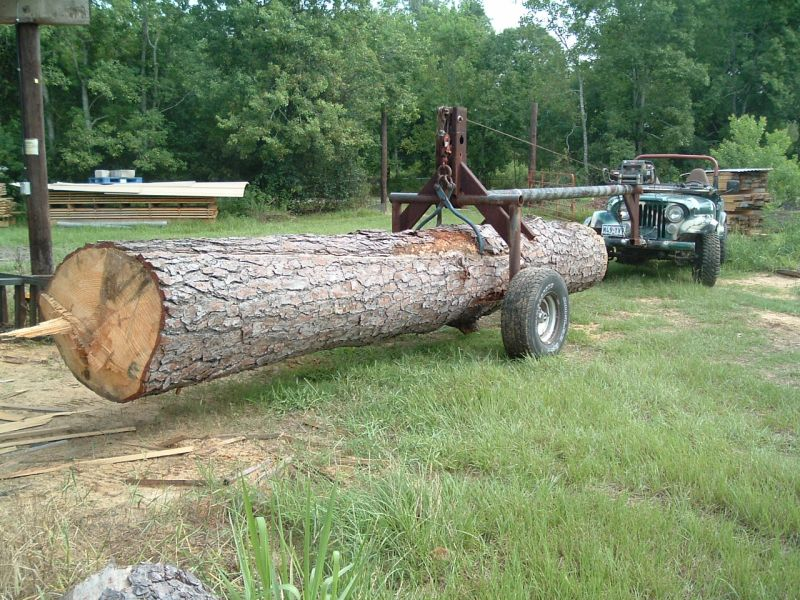 Loading And Moving Big Logs With Minimal Impact
