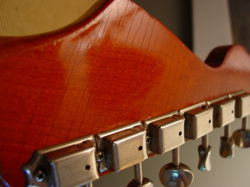 Matching a Fender Guitar Crackle Finish