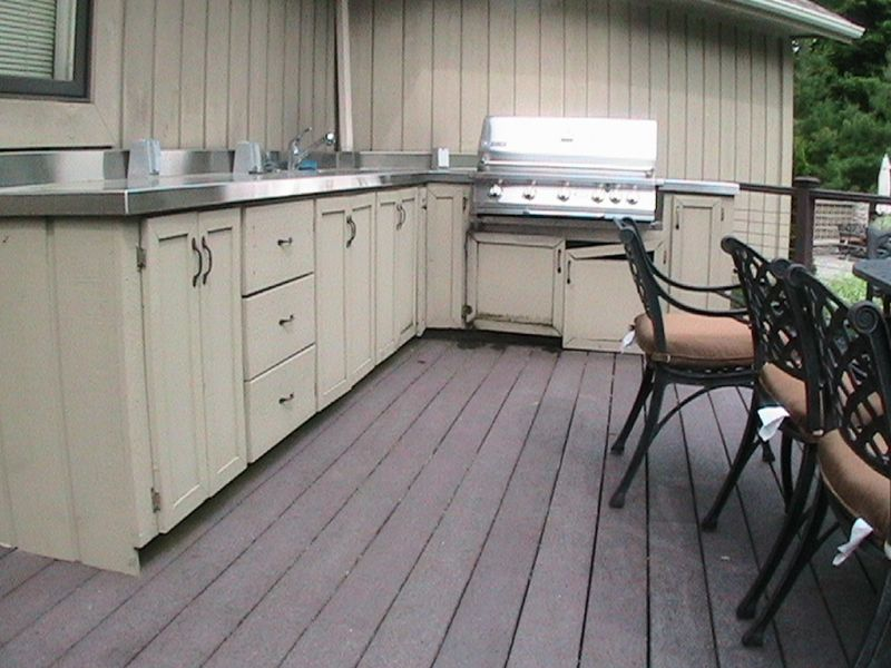 Materials For Outdoor Kitchen Cabinets - Outdoor kitchens cabinets