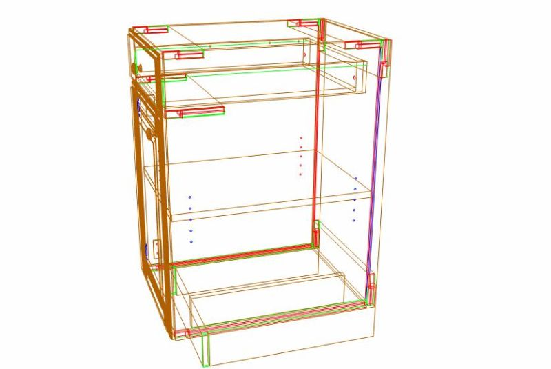 Optimizing Frameless Cabinet Construction For Materials Saving