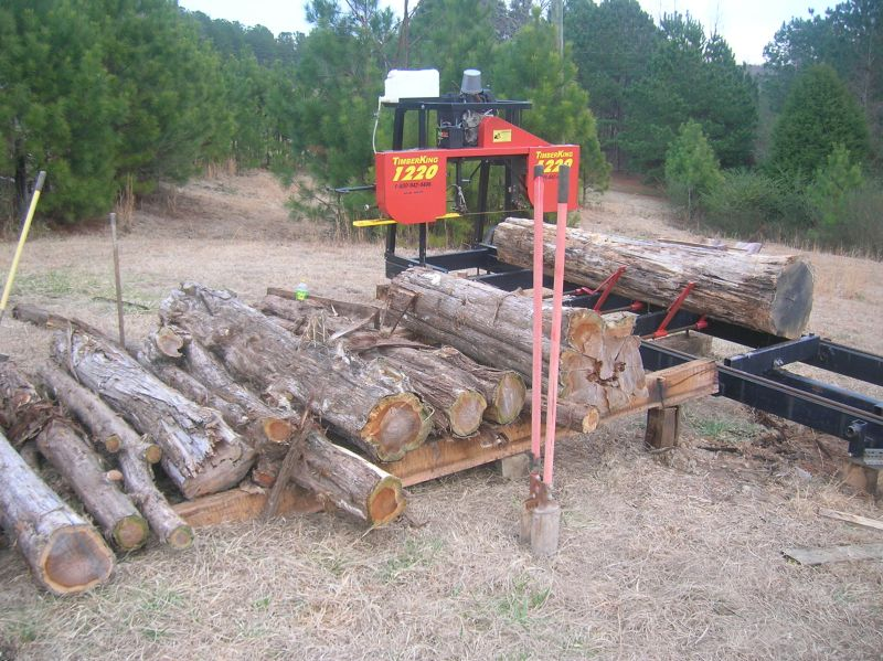 Organizing Logs And Flitches For Bandmill Operation