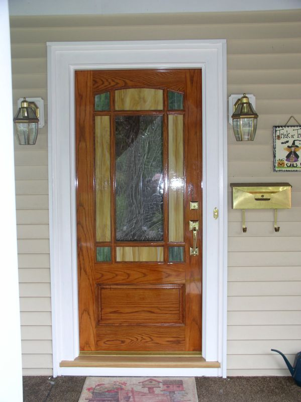 Reproduction Exterior Doors with Insulated Glass