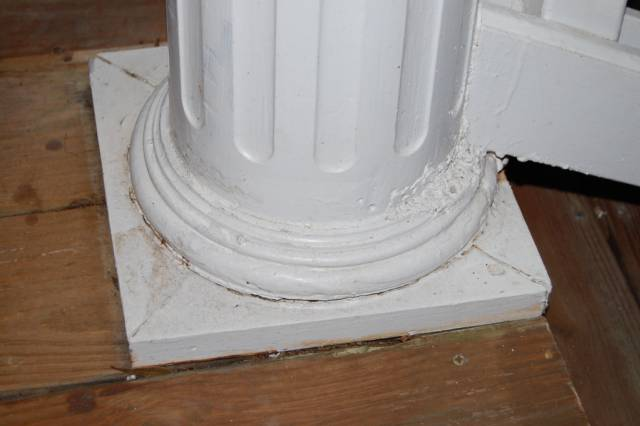 Routing Circular Mouldings For A Plinth