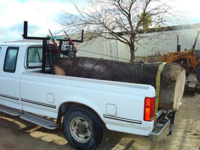 U Haul Gooseneck Hitch Sawmill Truck Show and...