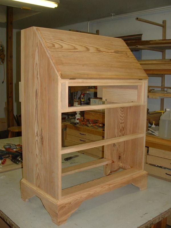 secretary desk furniture plans