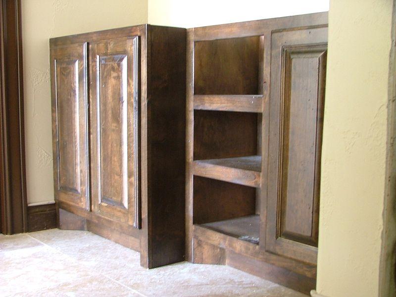 Bathroom Vanity Kick Plate setting and leveling base cabinets