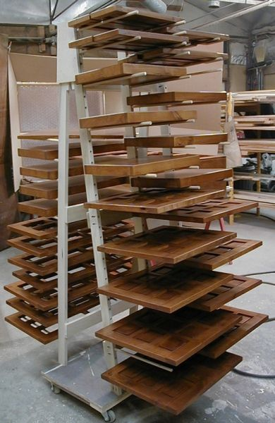 Shop Built Drying Racks
