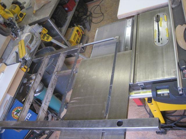 Dewalt Sliding Table Custom Metal Coffee Table Base
