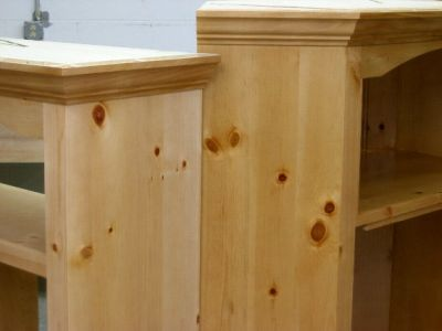 Staining Pine Cabinets
