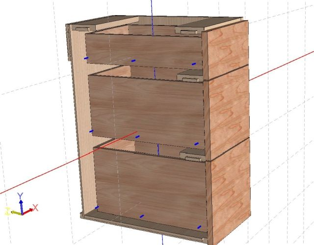Frameless Cabinet Construction Plans