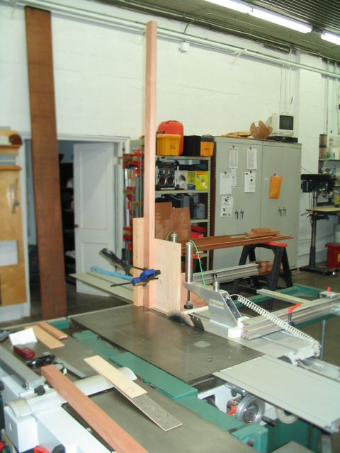 Tenoning Jig For Sliding Table Saw