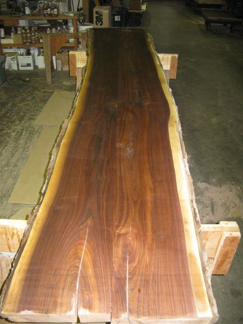 Thick Slab Table Top Construction
