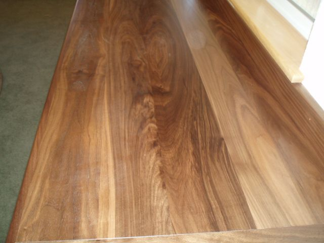 With Walnut Despite Its Great Natural Color It Is A Good Idea To Use Wiping Stain So That Original Will Not Lighten And Wash Out