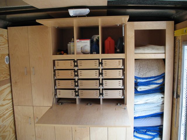 Enclosed Trailer Shelving Ideas http://www.woodweb.com/knowledge_base/TrickedOut_Job_Trailers.html